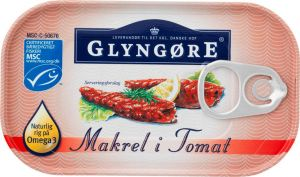 Glyngøre Mackerel In Tomato Sauce