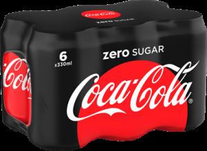 Coca Cola Zero 6-pack