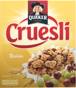 Quaker Cruesli Raisin