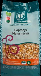 Urtekram Organic Popcorn