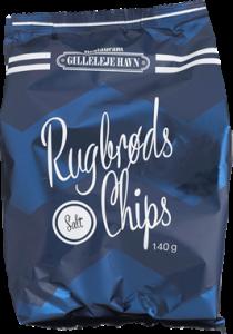 Restaurant Gilleleje Havn Salted Rye Bread Chips