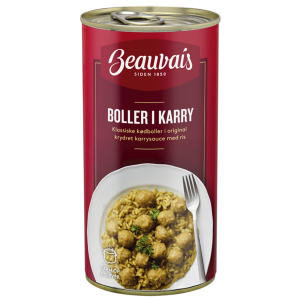 Beauvais Meatballs in Curry
