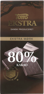 Toms Ekstra 80% Kakao