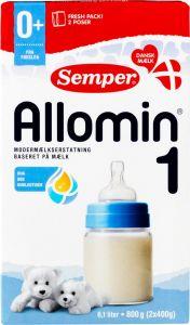 Semper Allomin 1 Milk Formula 0-6 Months