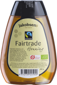 Jakobsens Fairtrade Honey