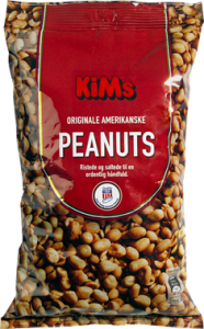 KiMs Originale Amerikanske Peanuts 1 kg