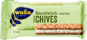 Wasa Cheese & Chives 3-pack