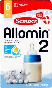 Semper Allomin 2 Milk Formula 6+ Months