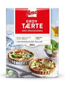 Amo Wholegrain Pie With Graham Flour