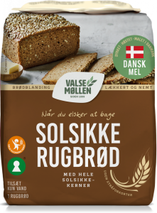 Valsemøllen Sunflower Rye Bread Mix