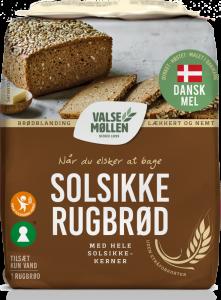 Valsemøllen Solsikke Rugbrød
