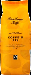 Peter Larsen Fairtrade Koffeinfri Hele Kaffebønner