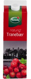 Rynkeby Naturig Tranebær Juice