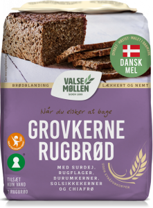 Valsemøllen Coarse Kernel Rye Bread Mix