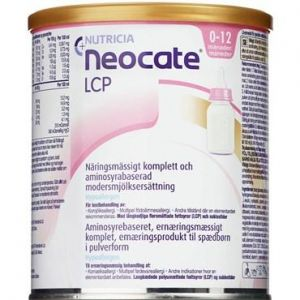 Neocate LCP has an energy density of 0.67 kcal / ml. Neocate LCP is an amino acid based complete nutritional product in powder form for nutritional management of infants with special medical needs. It contains amino acids (protein), fat, carbohydrate as w