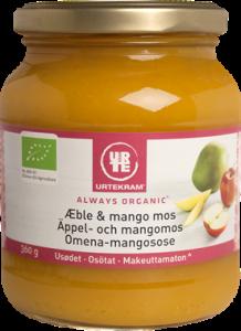 Urtekram Organic Apple & Mango Purée