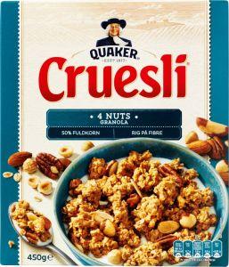 Quaker Cruesli 4 Nuts