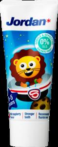 Jordan Toothpaste 0-5 Years