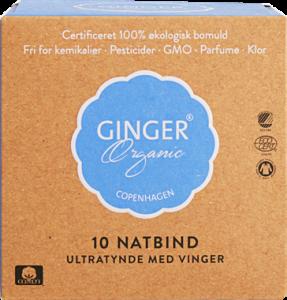 Ginger Organic Sanitary Napkins Night