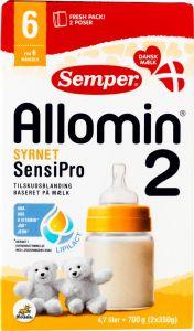 Semper Allomin SensiPro 2 Milk Formula 6+ Months