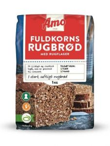 Amo Wholegrain Rye Bread Mix