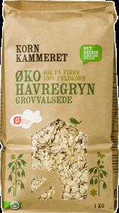 Kornkammeret Organic Oatmeal