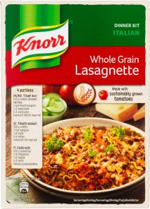 Knorr Whole Grain Lasagnette