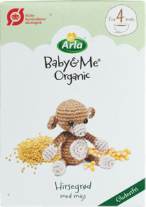 Arla Baby & Me Porridge From 4 Months