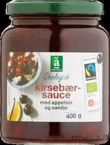 Änglamark Organic Cherry Sauce