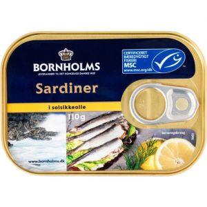 Bornholms Sardines in Sunflower Oil