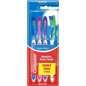 Colgate Tandbørster 4 Stk. Medium