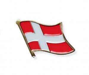 Danish Flag Pin