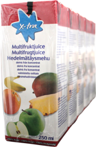 X-tra Multi Fruit 5 pack