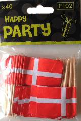 Danish Toothpick Flags