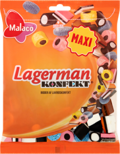 Malaco Lagerman Candy 0,375 kg