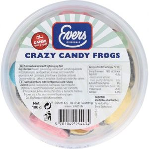 Evers Crazy Candy Frogs