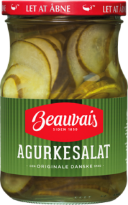 Beauvais Pickled Cucumber Salad