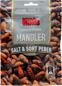 KiMs Almonds Salt & Black Pepper