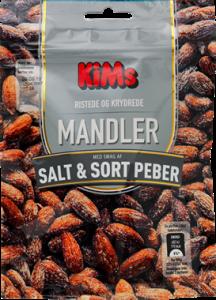 KiMs Mandler Salt & Sort Peber