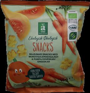 Änglamark Snacks Carrot & Pumpkin