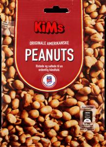 KiMs Roasted & Salted Peanuts 0,22 kg