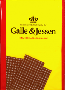 Galle & Jessen Lys Pålægschokolade