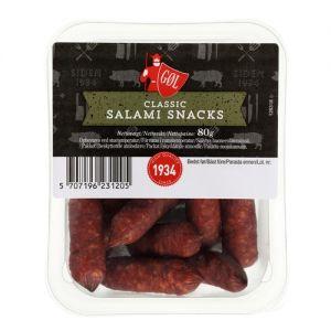 Gøl Classic Salami Snacks