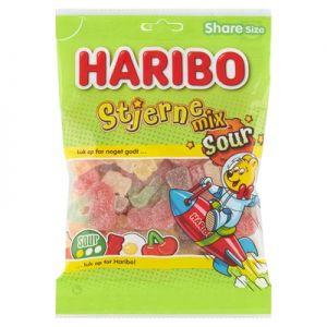 Haribo Stjerne Mix Sour 0,375 kg