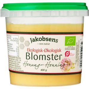Jakobsens Organic Flower Honey 0,4 kg