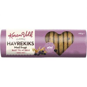 Karen Volf Classic Havrekiks with Fruit