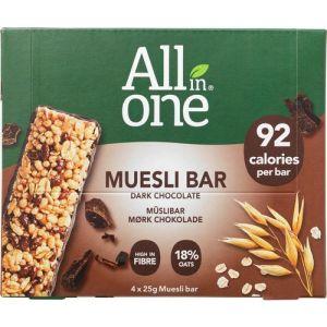 Karen Volf Muesli Bar Dark Chocolate 4-pack