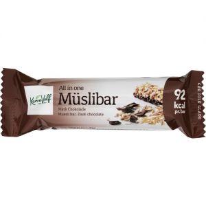 Karen Volf Muesli Bar Dark Chocolate