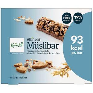 Karen Volf Müslibar Mælkechokolade 4-pak