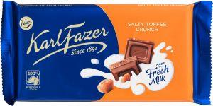 Karl Fazer Chokolade Salty Toffee Crunch
